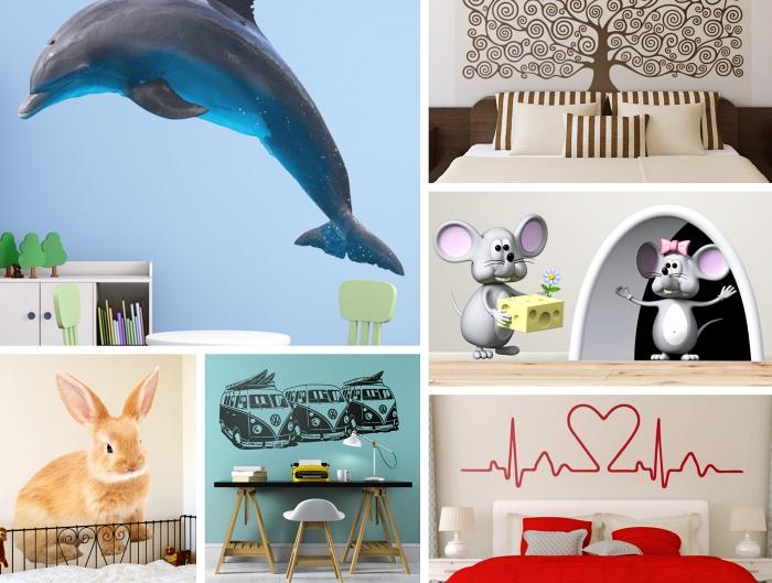3-poster-3D-stickers-enfants-déco-chambre-enfant-avec-stickers-muraux-motifs-animaux-chambre-parentale-poster-arbre-de-vie-coeurs