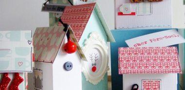 Fabriquer Un Village De Noel En Carton Pour Recreer L