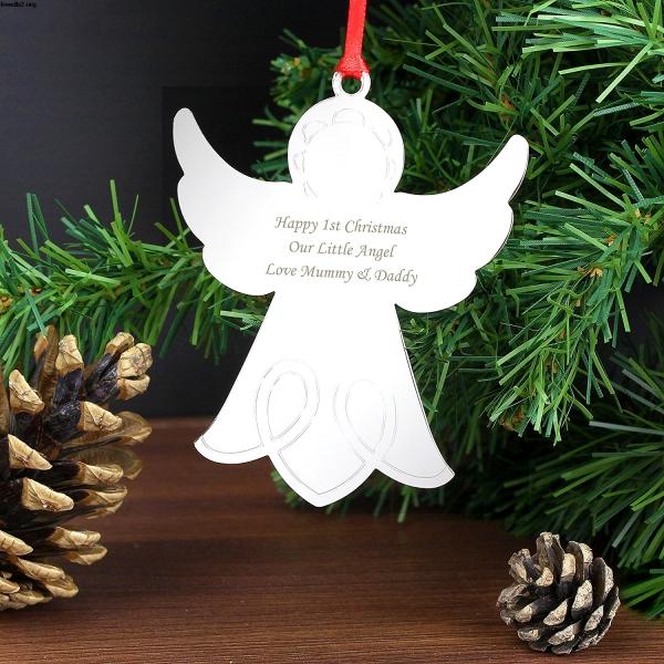 ange de Noël à fabriquer ange facile
