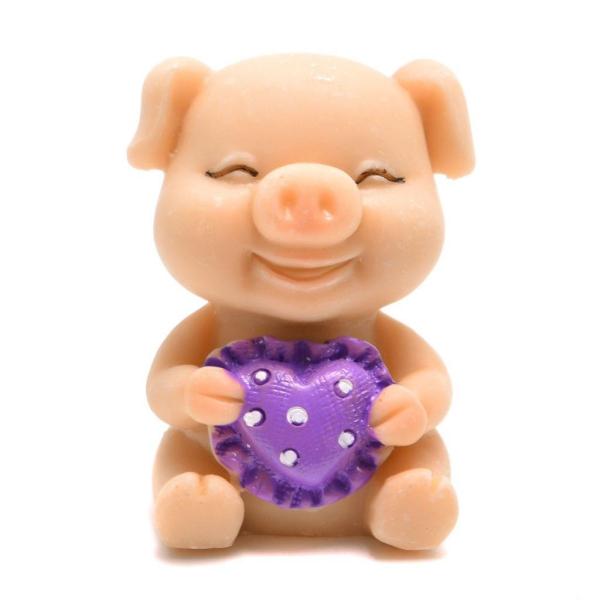 année du cochon figure en plastique
