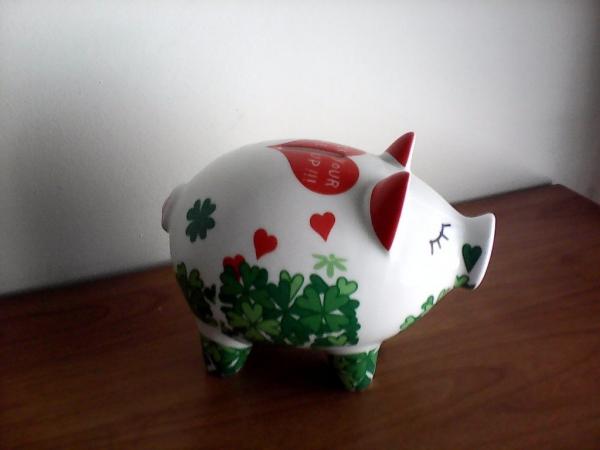 année du cochon jolie caisse d'épargne