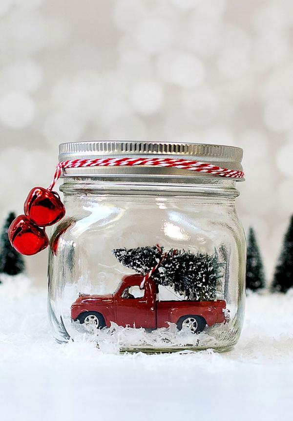 bocal de Noël jouet dans le bocal