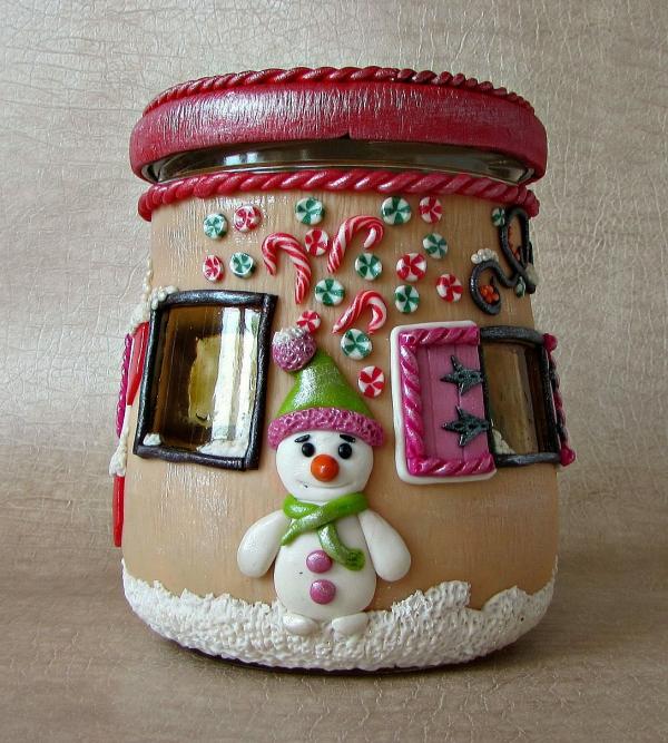 bocal de Noël un bocal appétissant