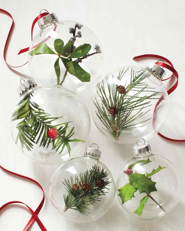 boule de Noël à fabriquer en verre