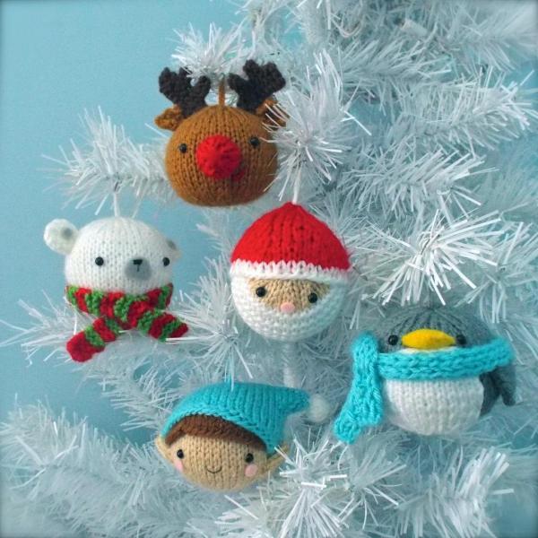 boule de Noël à fabriquer figures mignonnes