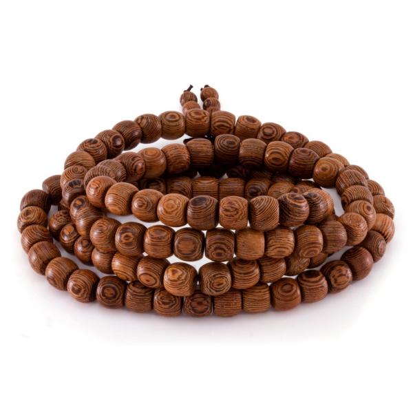 bracelet en bois collier en bois