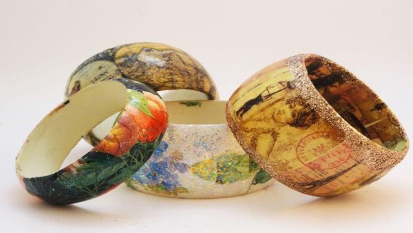 bracelet en bois très exquis