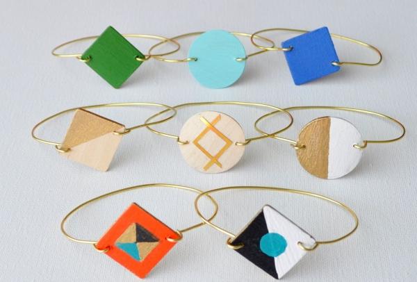 bracelet en bois un seul élément