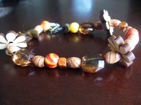 bracelet en bois variante originale