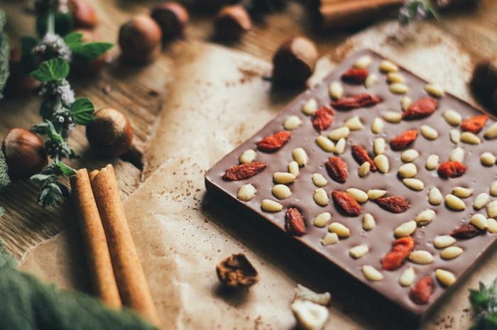 chocolat à la baie de goji recette facile