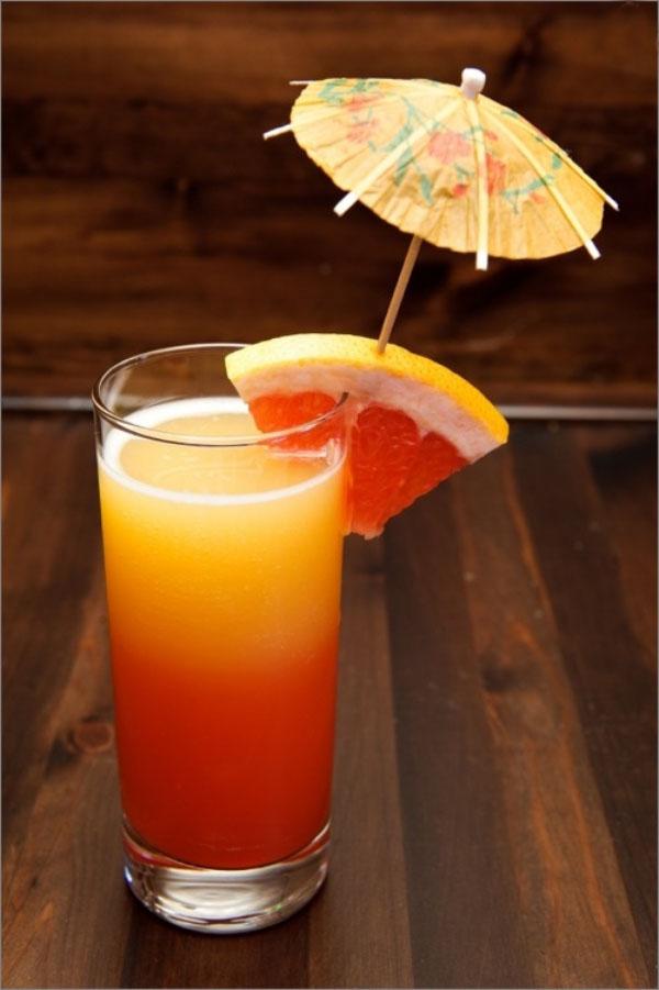 cocktail Noël idees sans alcool pamplemousse et citrouille