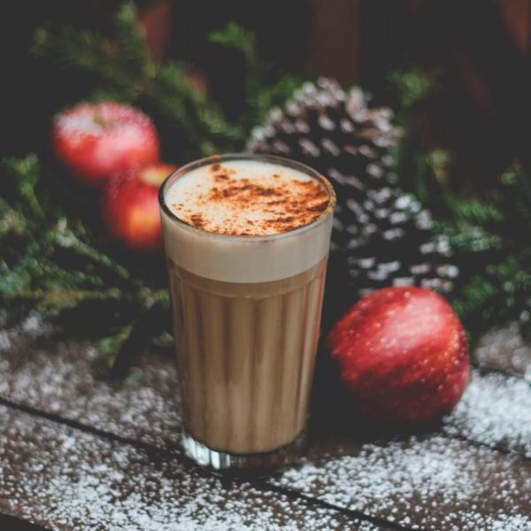 cocktail Noël sans alcool chocolat au lait