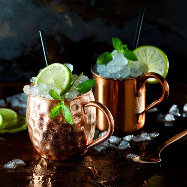 cocktail Noël sans alcool citron vert