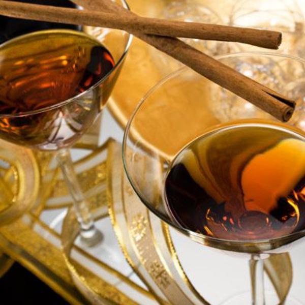 cocktail Noël sans alcool jus d'orange