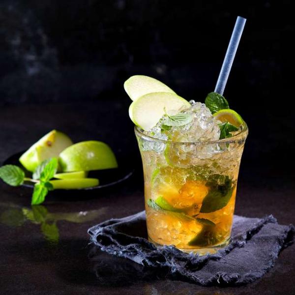 cocktail Noël sans alcool jus de citron