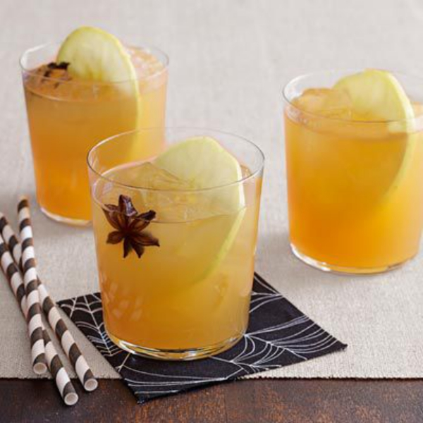 cocktail Noël sans alcool punch au cidre