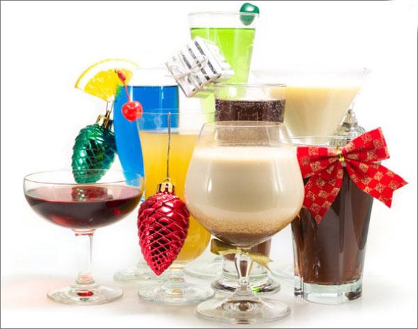 cocktail Noël sans alcool riche gamme de cocktails