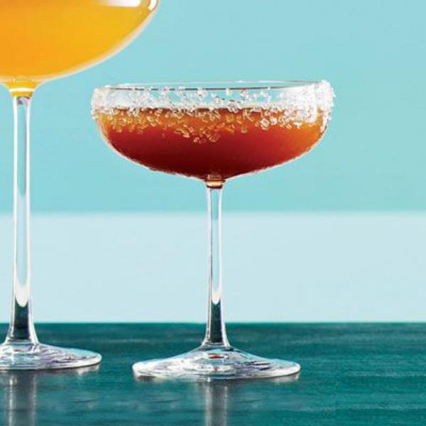 cocktail Noël sans alcool version non alcoolisée de Sidecar