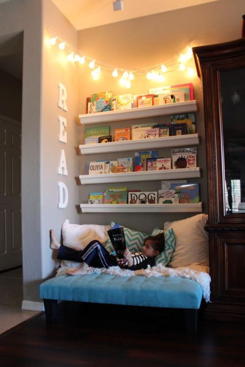 coin lecture coin confortable pour enfants