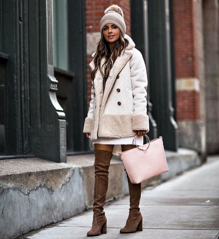 comment porter des cuissardes en hiver