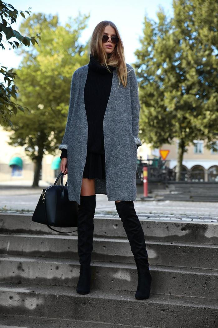 comment porter des cuissardes pour une tenue élégante