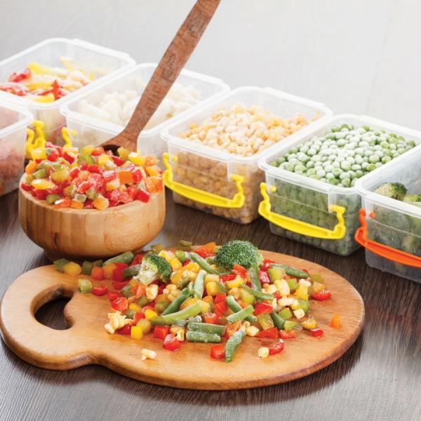 conservation riz cuit des légumes à conserver