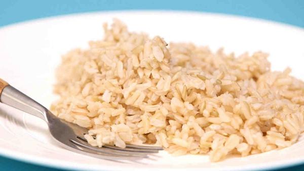 conservation riz cuit du riz brun