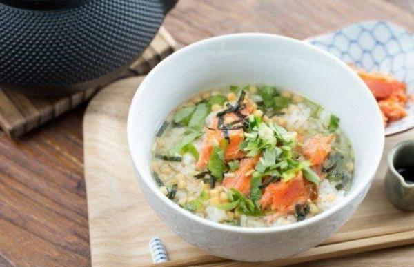 conservation riz cuit soupe au riz