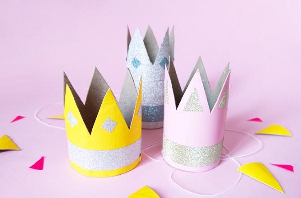 couronne Épiphanie avec décorations