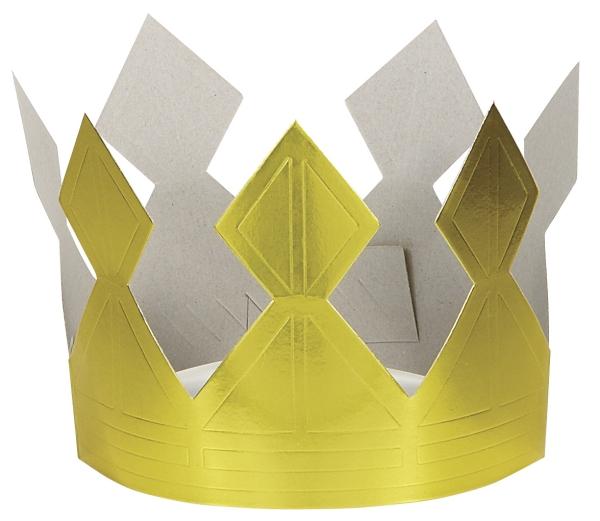 couronne Épiphanie comme en or