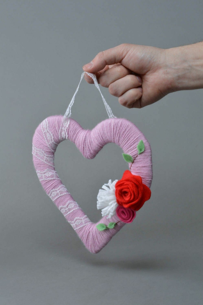 couronne diy saint valentin 2019