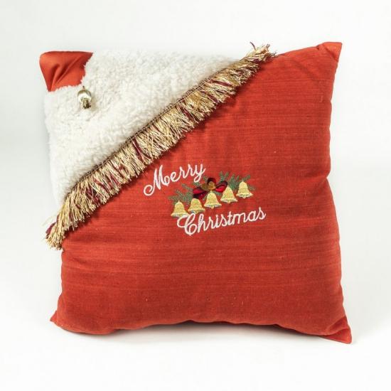 coussin Noël personnalisé en velours