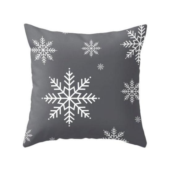 coussin Noël personnalisé style scandinave