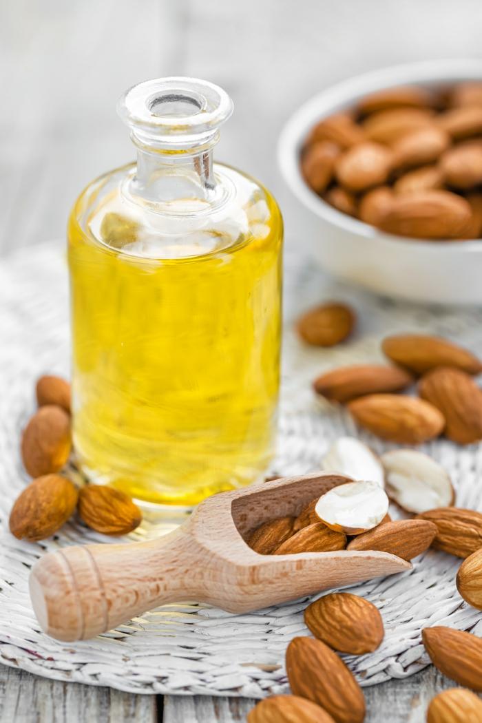 crème hydratante maison huile d'amande douce pour les mains