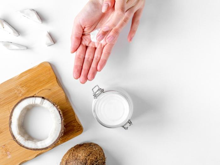 crème hydratante maison maisn avec beurre de coco