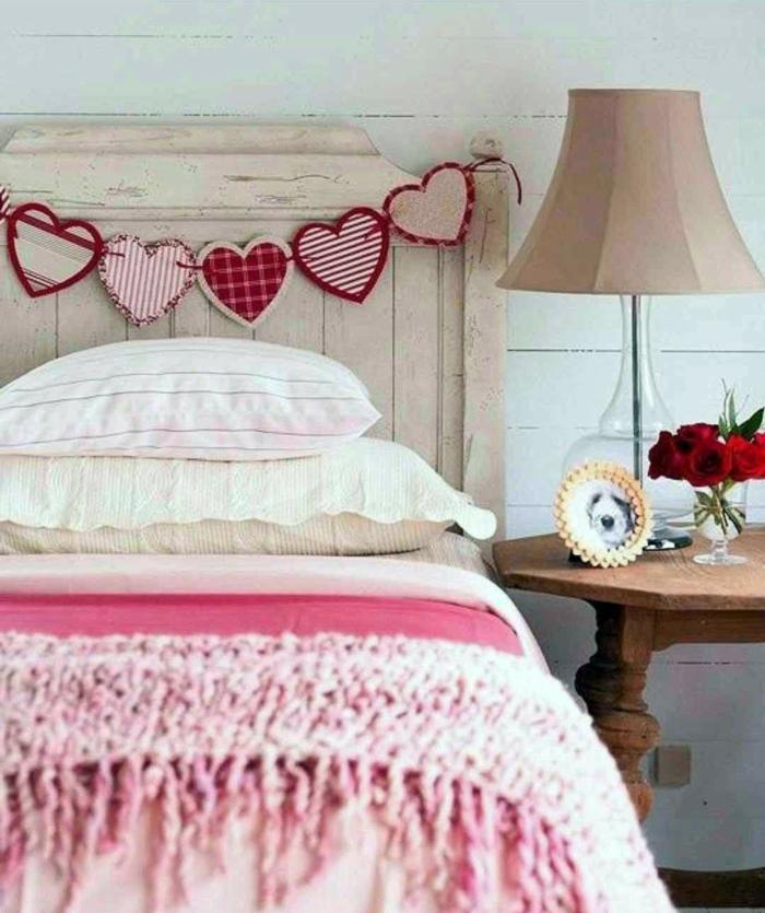déco chambre pour une ambiance romantique idée saint valentin 2019