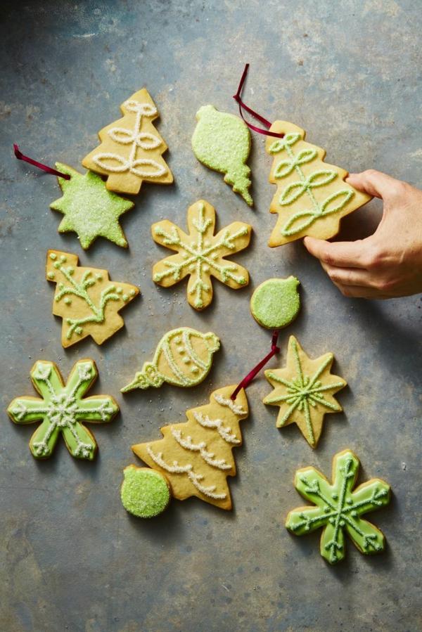 décorer son sapin de noël ornement biscuit