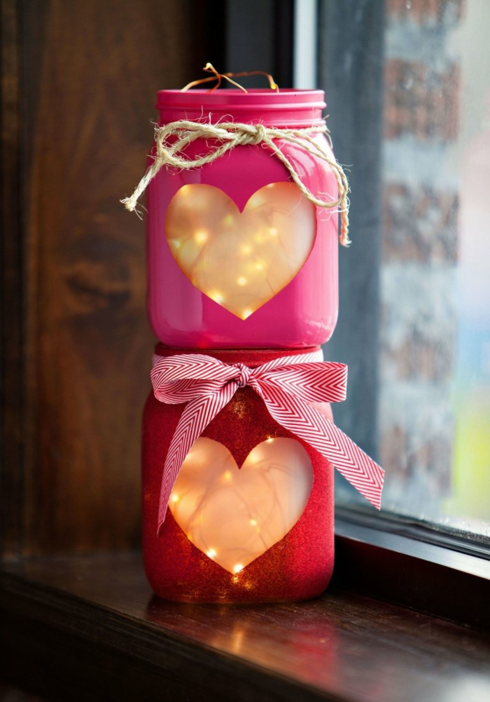 diy déco romantique idée saint valentin 2019