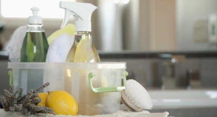 diy idée de nettoyant avec des épluchures