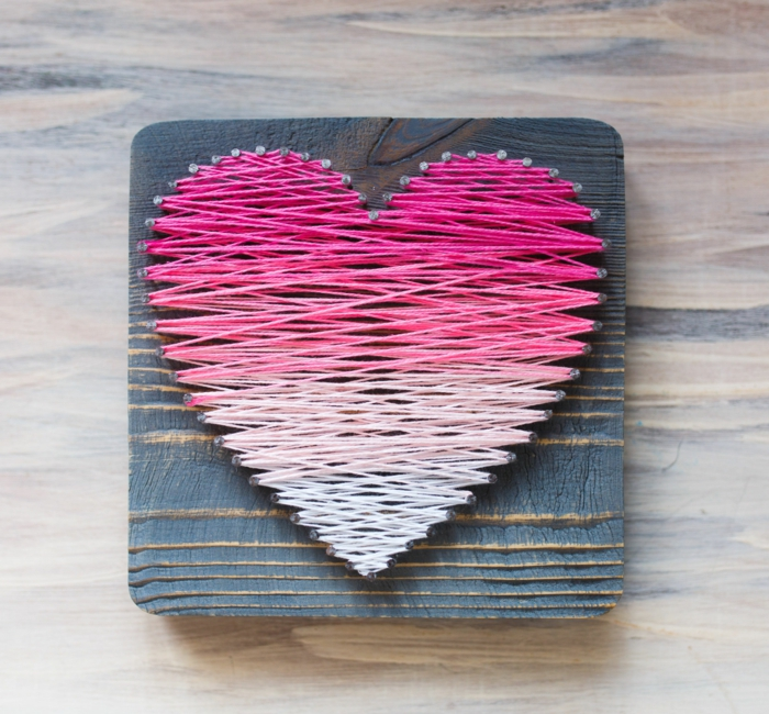 diy saint valentin 2019 string art