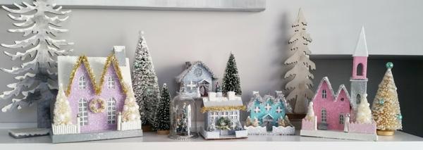 fabriquer un village de Noël installation parfaite