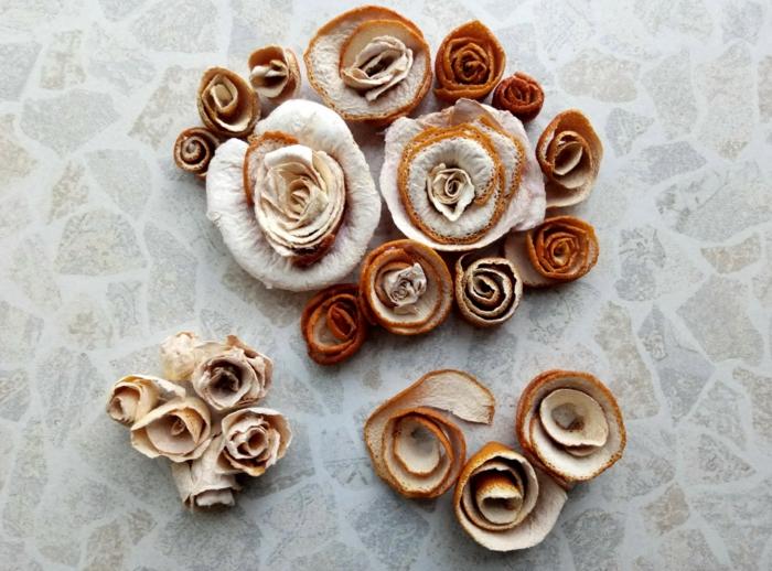 fleurs de épluchures