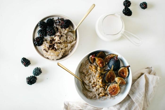 fruits pour la recette porridge