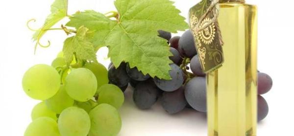 huile de pépins de raisin blanc et noir