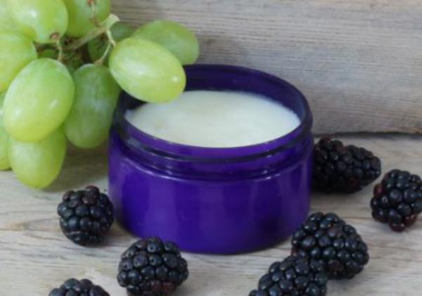 huile de pépins de raisin crème cosmétique