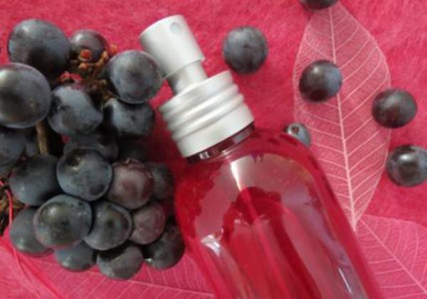 huile de pépins de raisin de raisin noir
