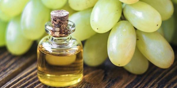 huile de pépins de raisin graines blanches