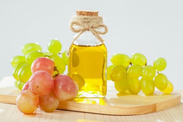 huile de pépins de raisin jolie couleur