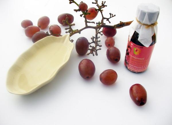 huile de pépins de raisin pressée froidement