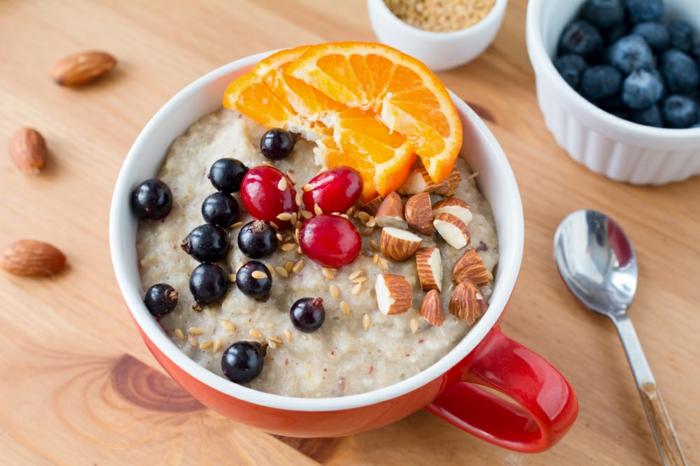 idée comment servir recette porridge
